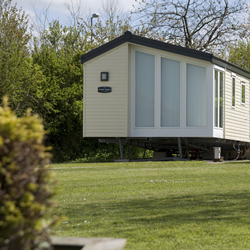 Modern Static Caravan at Morgan's Lodge Caravan Park